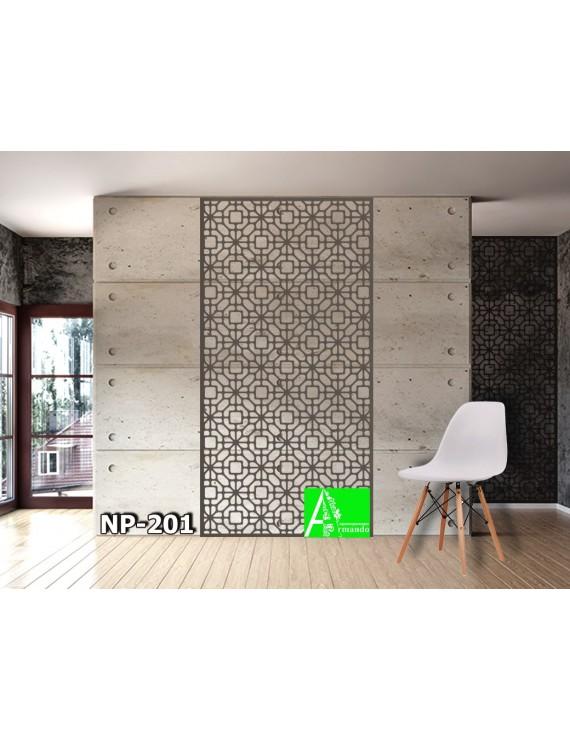 NP-201 Настенная декоративная панель из МДФ