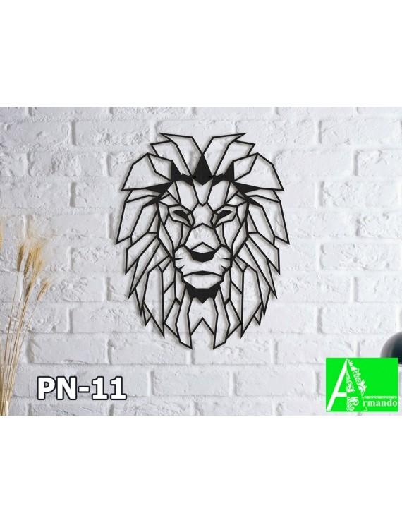PN-11 Панно настенное декоративное со львом Царь Зверей