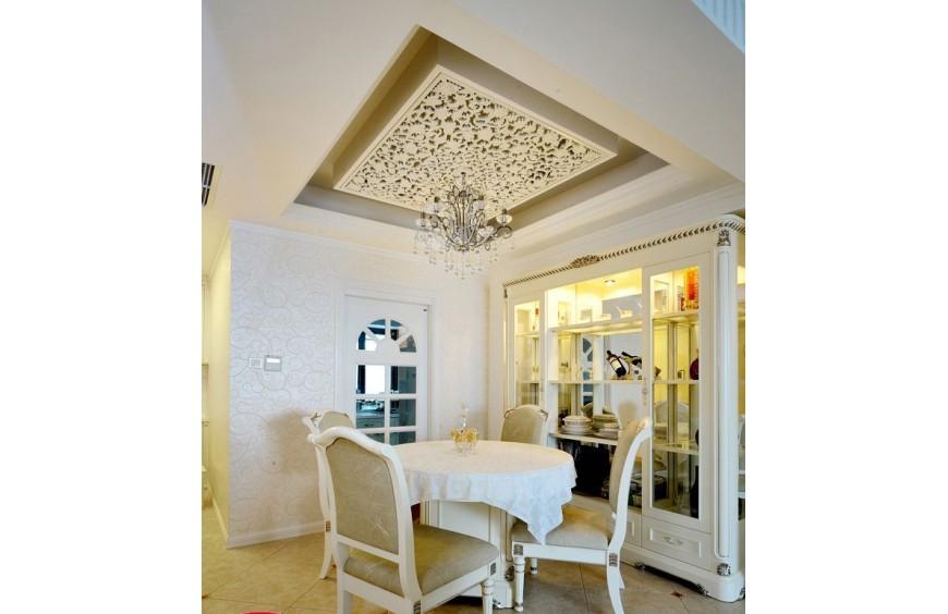 Подвесные потолочные панели, примеры применения.