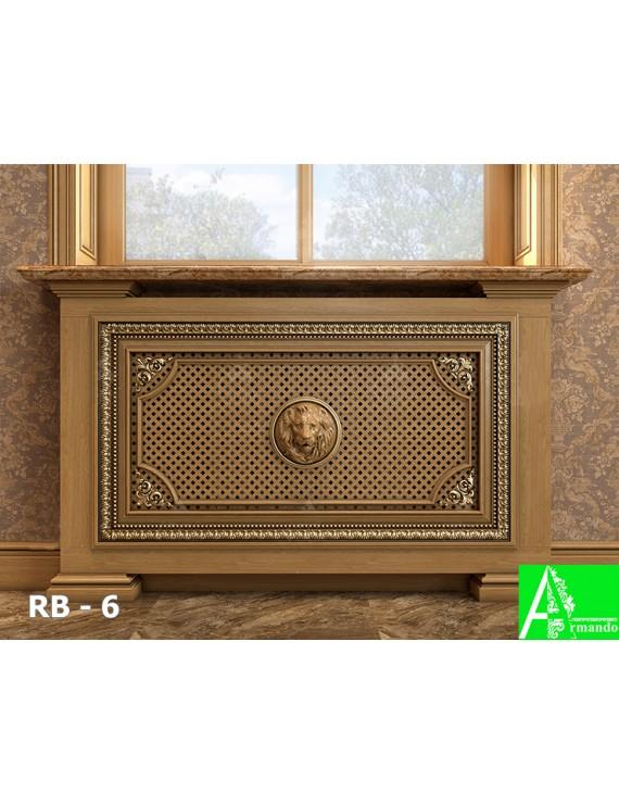 RB-6 Декоративный экран для маскировки радиатора отопления